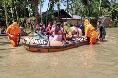大发体育:印度东北部梅加拉亚邦洪灾致5人殒命 第1张