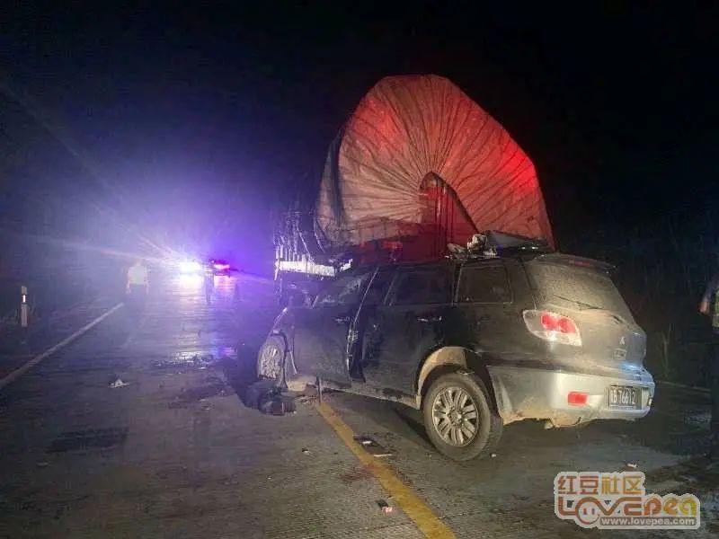 广西一货车因故障停路边,被追尾致5死!面对交警,司机却说……
