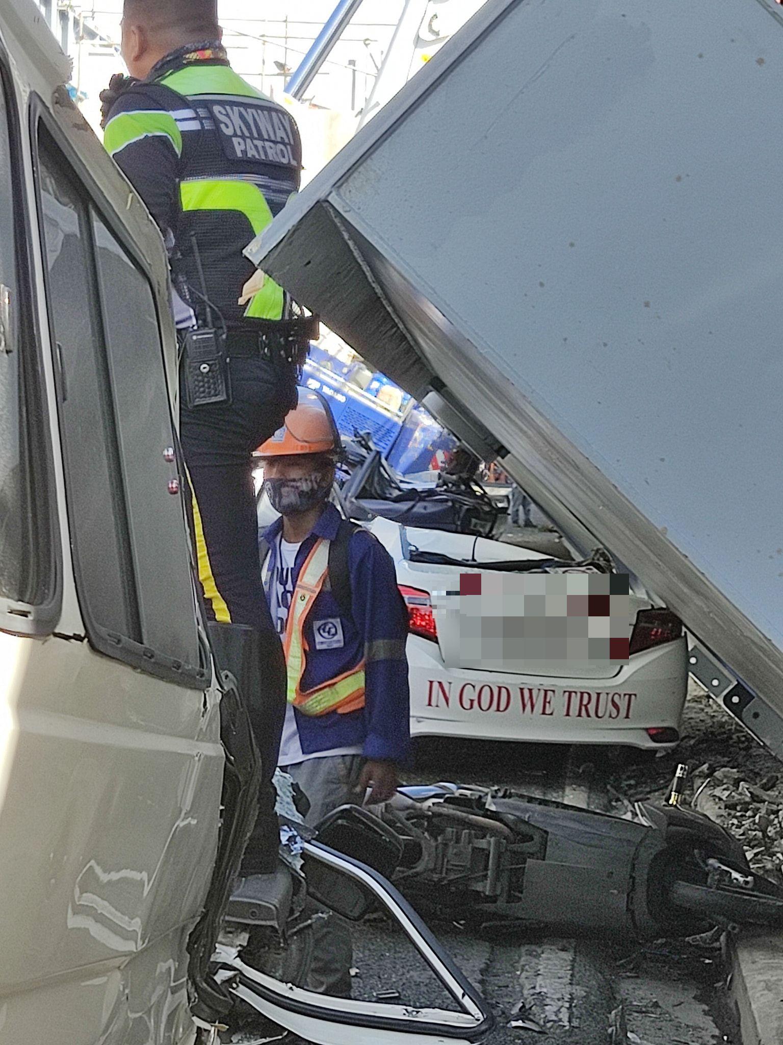 usdt支付(caibao.it):突发事故 菲律宾一高架桥扩建工程钢梁突然掉落 致至少1死3伤 第1张