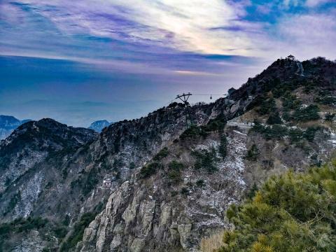 世界自然与文化双遗产——泰山,会当凌绝顶,一览众山小