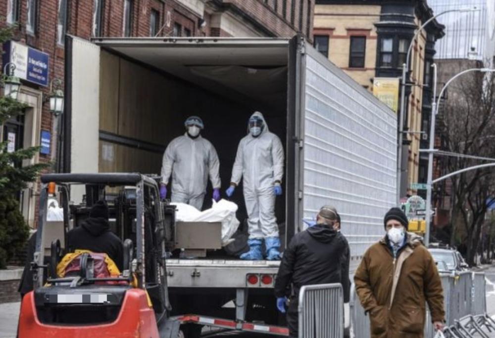 美国五角大楼筹措10万个装尸袋 美媒:令人忧心