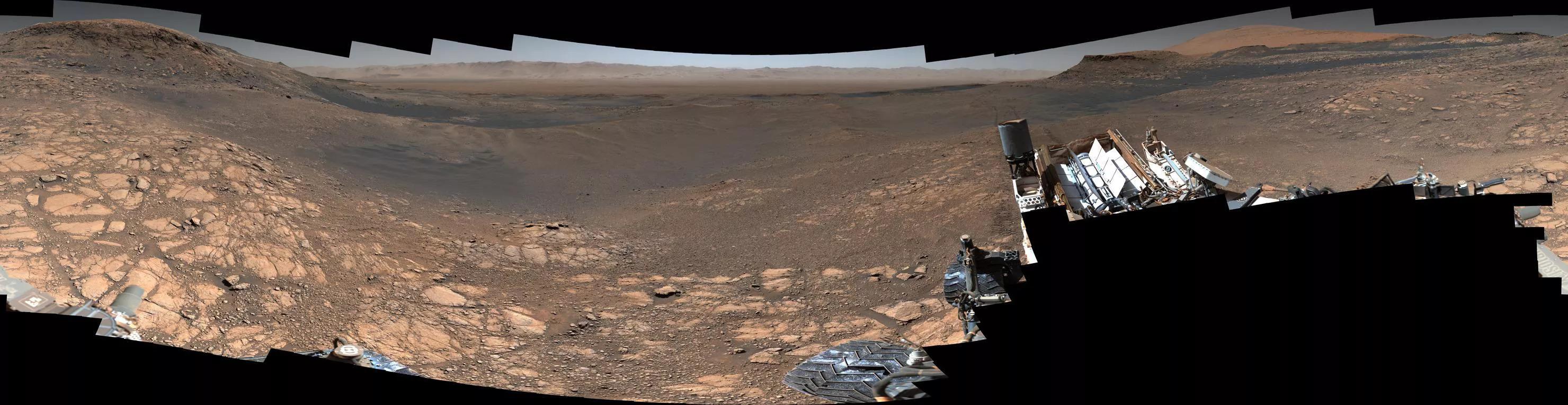 NASA公布纪念性火星全景图 高达180亿像素