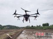 济南市龙马潭:直升机播种 一亩地播种仅需3分钟