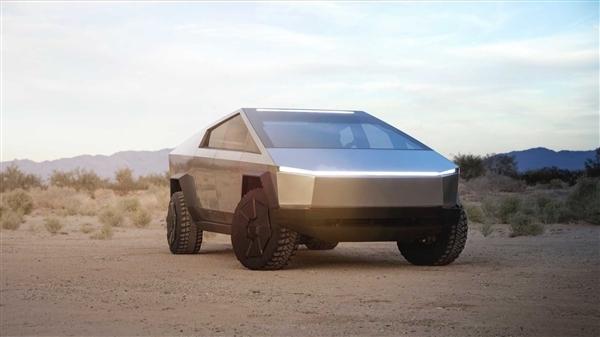 马斯克曝光CyberTruck皮卡亮点:车顶激光大灯+拖曳计算器 吸引了众人的目光