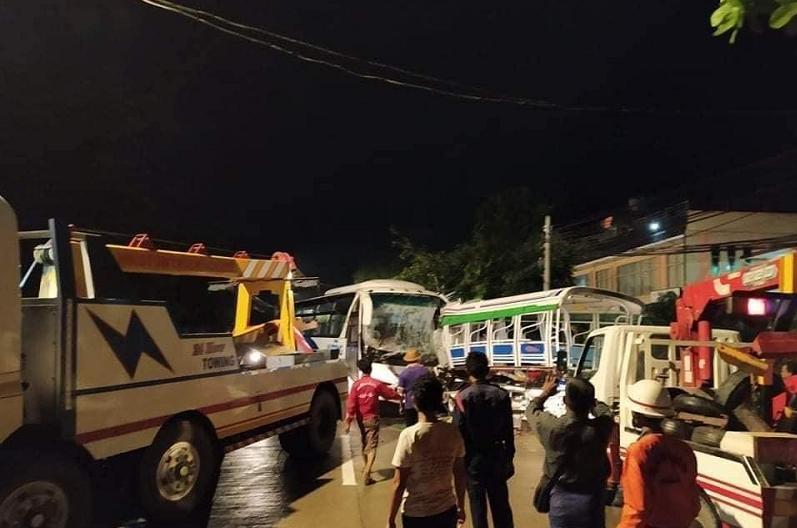 allbet gaming电脑版下载:缅甸仰光两车相撞 已致5人殒命 35人受伤 第3张