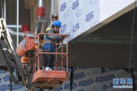 杭州亚运三馆恢复正常施工