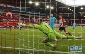 英超:谢菲尔德联3-1胜热刺