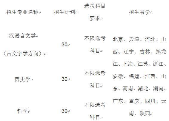 中国人民大学2020年强基计划5月10日启动