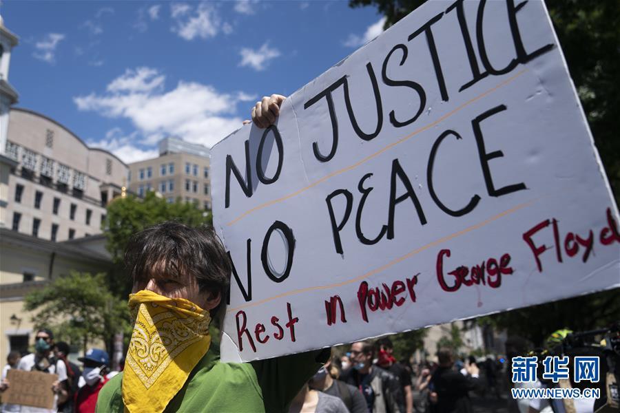 华盛顿:继续抗议警察暴力执法