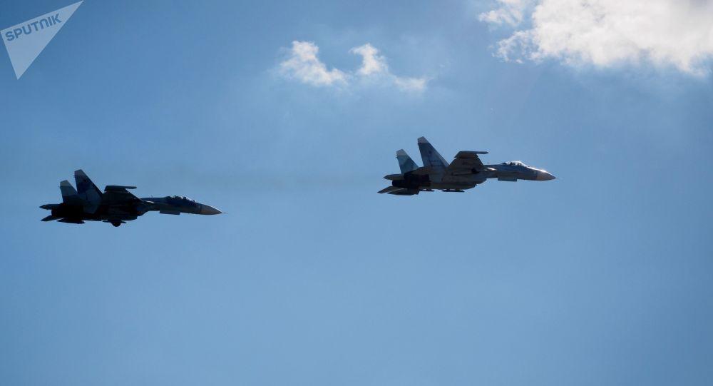 美军侦察机1周内第3次抵近俄边界俄军再派战斗机拦截