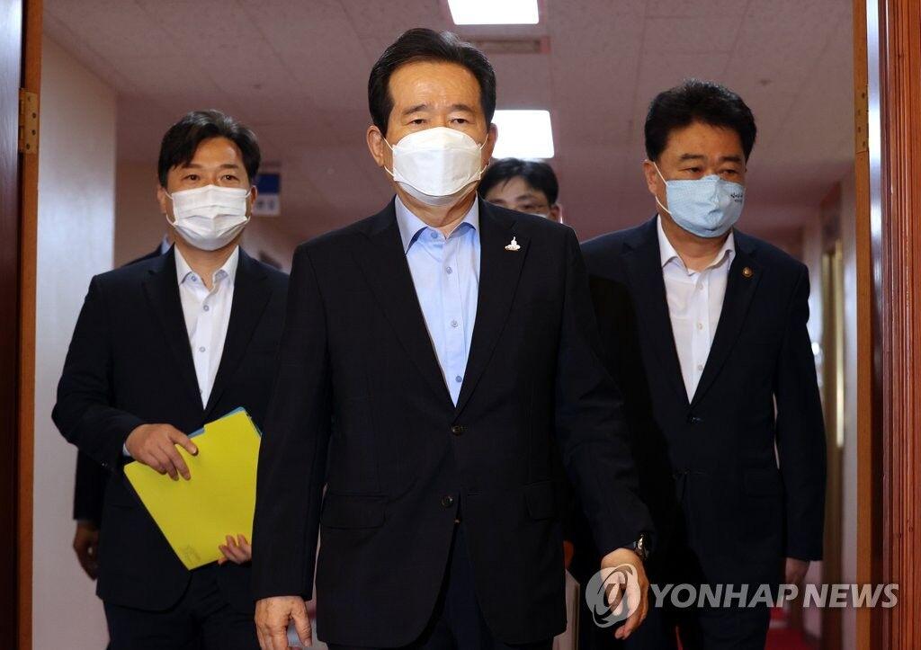 韩国总理新冠病毒检测呈阴性,此前一名下属确诊