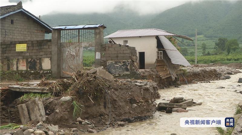 """四川冕宁县""""6·26""""特大暴雨灾害已造成14人遇难 8人失联"""