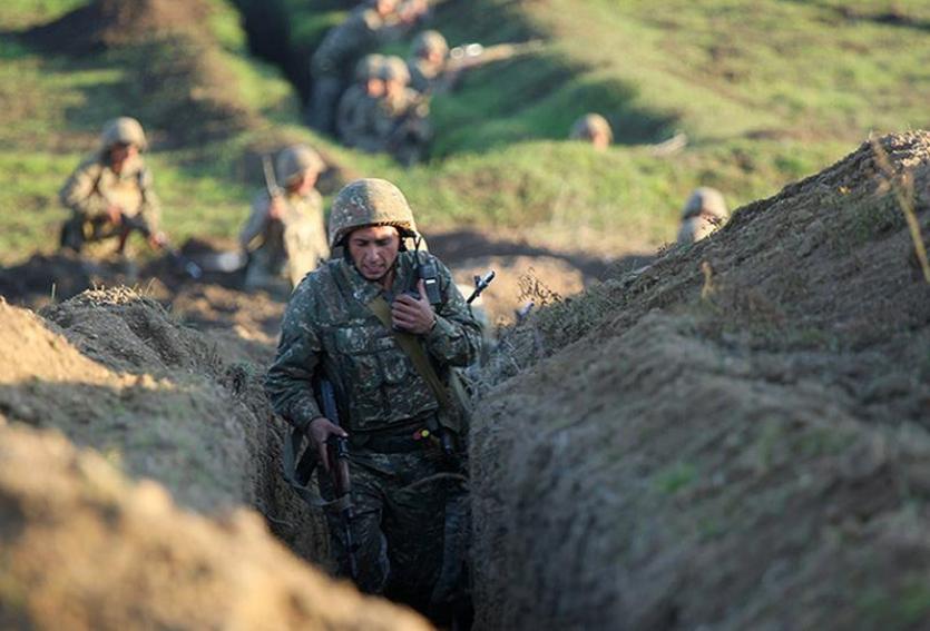 阿塞拜疆国防部:纳卡接触线接连发生激烈战斗