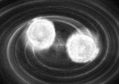 最新发现 首个双白矮星引力波源证实