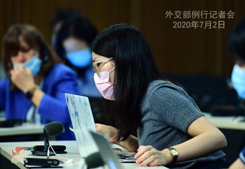 欧博亚洲官网开户网址:中方是否担忧香港国安法会影响中美关系?赵立坚:维护国家安全和双边关系哪个更主要,一目了然 第5张