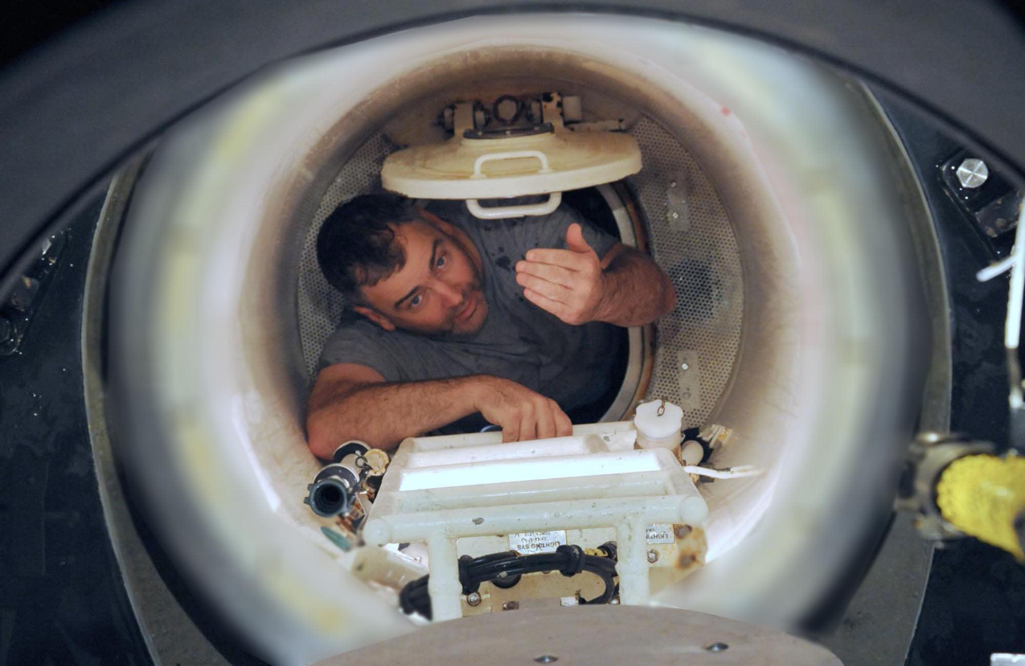 日本澳大利亚潜艇救难训练日深海潜艇曝光