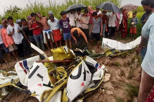 印度北方邦一教练机失事 1人死亡