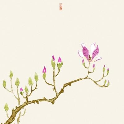 诗词中的春日节气|看美人头上,袅袅春幡