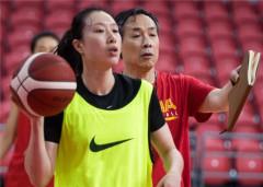 中国女篮队长邵婷:参加军运会的队员为队伍注入新活力