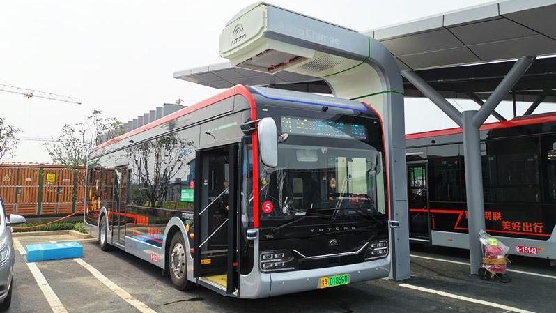 鄭州自動駕駛公交試運行 市民可免費乘車體驗