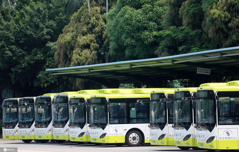 黑科技新能源公交在广东投放 可进行易燃挥发物检测