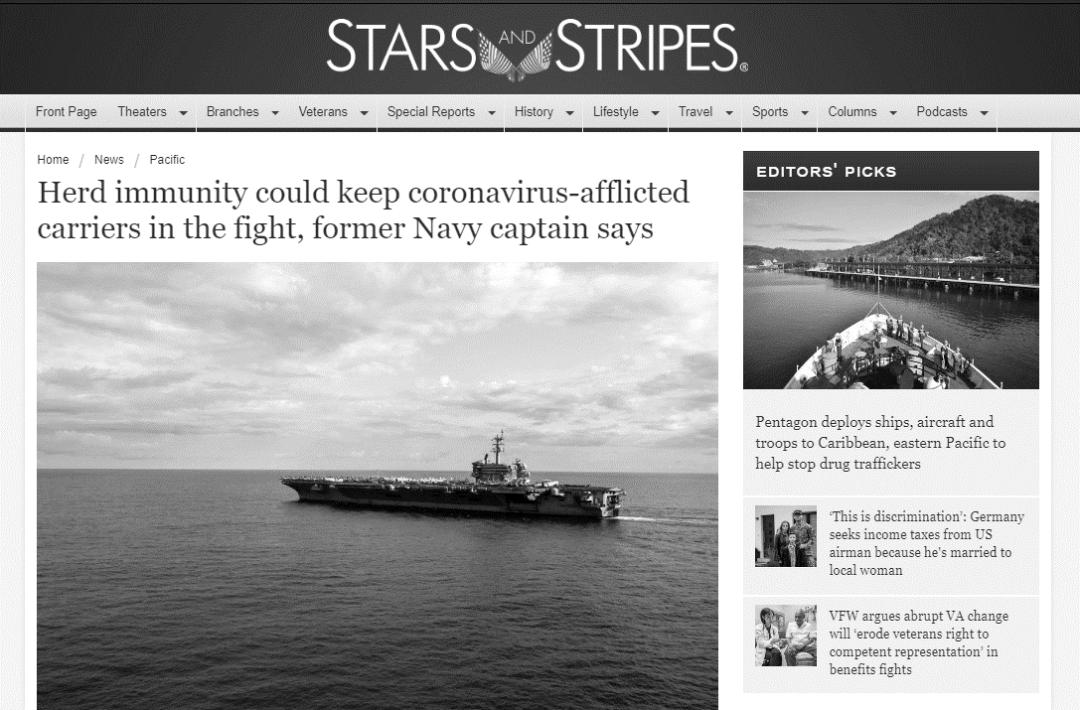 """疯狂!为维持美军霸权,美专家竟建议中国周边美舰实施""""群体免疫"""""""