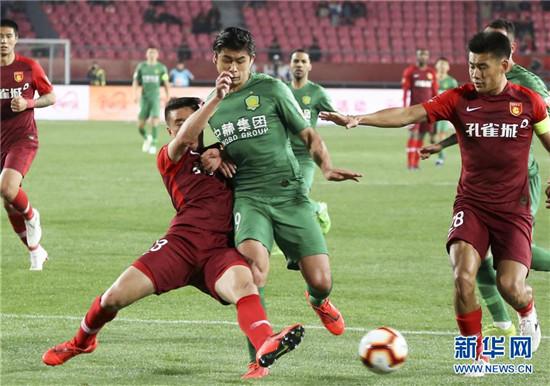 中超:国安不满补时被判争议点球将向足协提出申诉