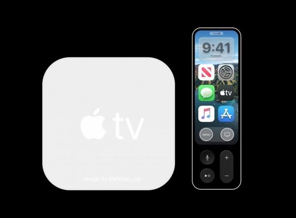 苹果AppleTV6概念图流出:搭载A12X 遥控器带有显示屏