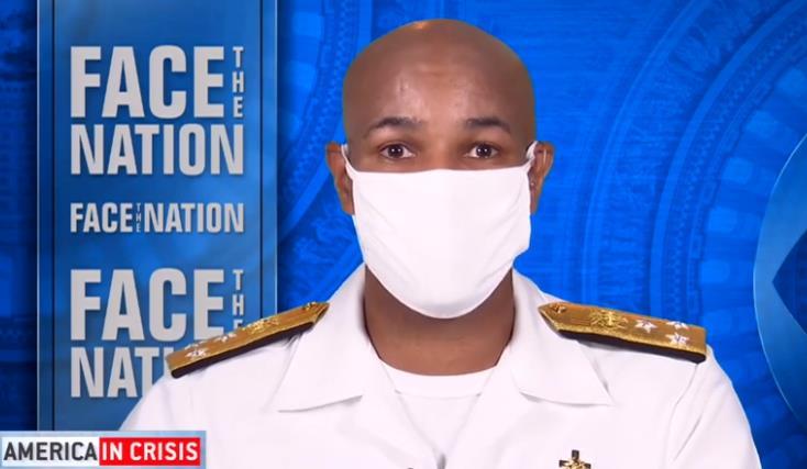 """大发888真人:美国卫生局长承认了:在戴口罩问题上 美政府正在""""纠错"""" 第1张"""