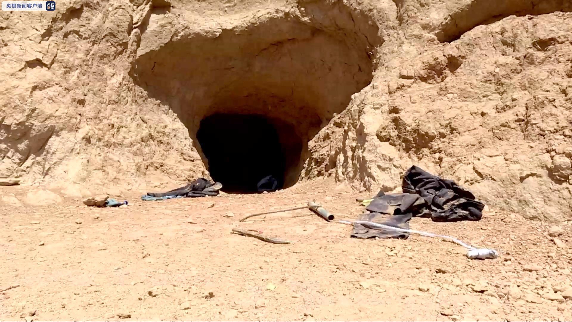 陕西警方打掉一盗掘古脊椎动物化石犯罪团伙 8人被抓 查获化石200公斤