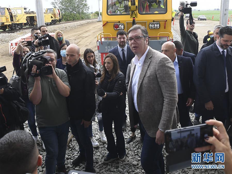 塞尔维亚总统说匈塞铁路对塞至关重要