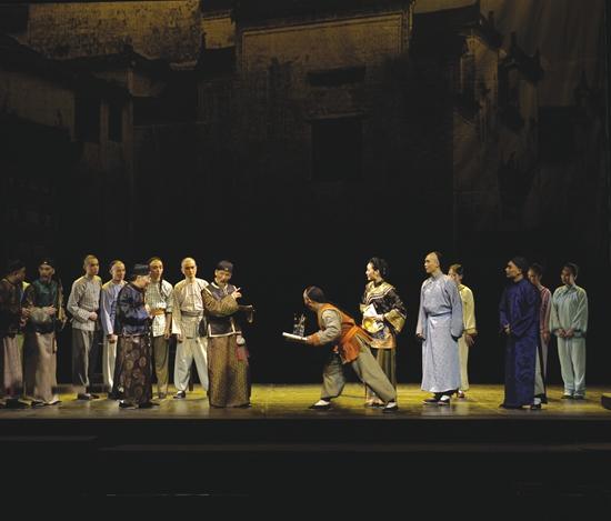 黄梅戏《徽州女人》20周年纪念演出韩再芬领衔主演再登国家大剧院舞台