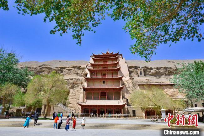 甘肃敦煌旅游全面重启 文化旅游市场渐复苏