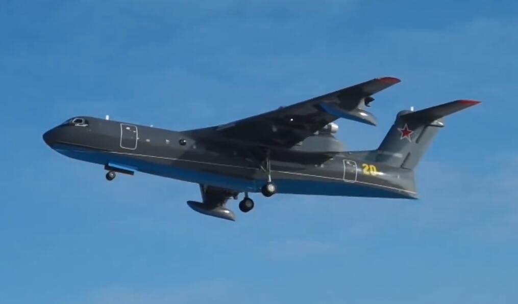俄海军新型两栖飞机首飞俄专家:它在中国有竞争对手