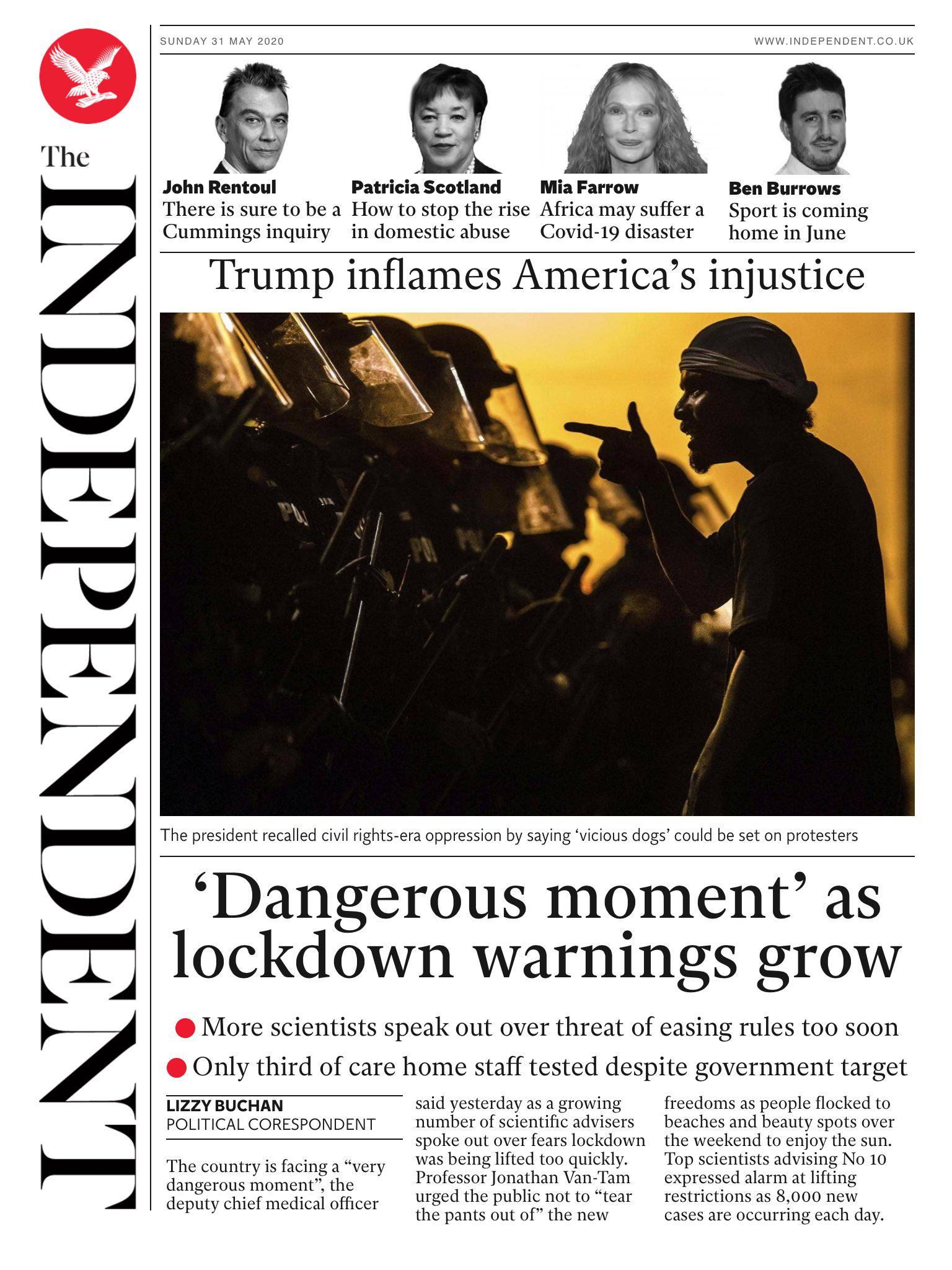 一场骚乱让世界重新认识美国 美媒:各国都在批评我们