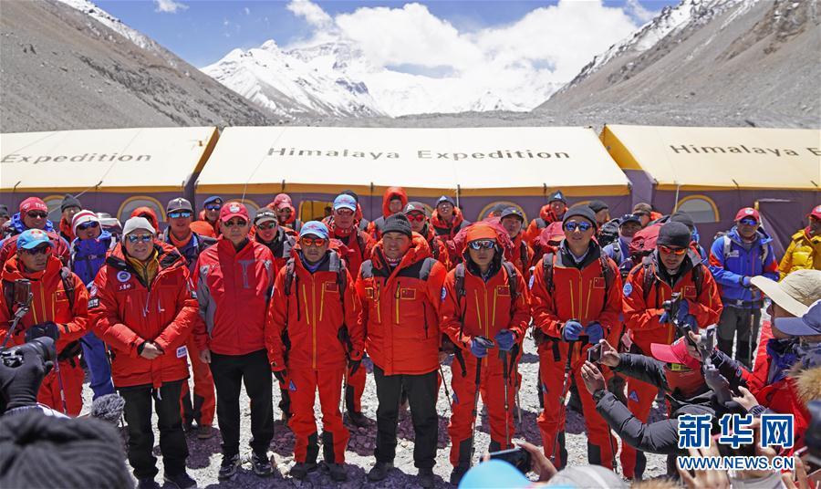 出征!2020珠峰冲顶测量开启