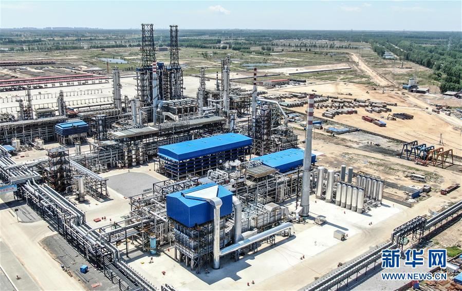 海南盘锦:近代史集团第一项目160万吨/年加氢裂化装置投产