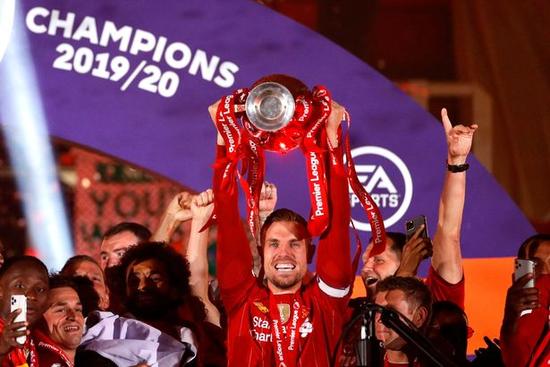 史上最高!利物浦获1.75亿镑夺冠奖金+转播分成
