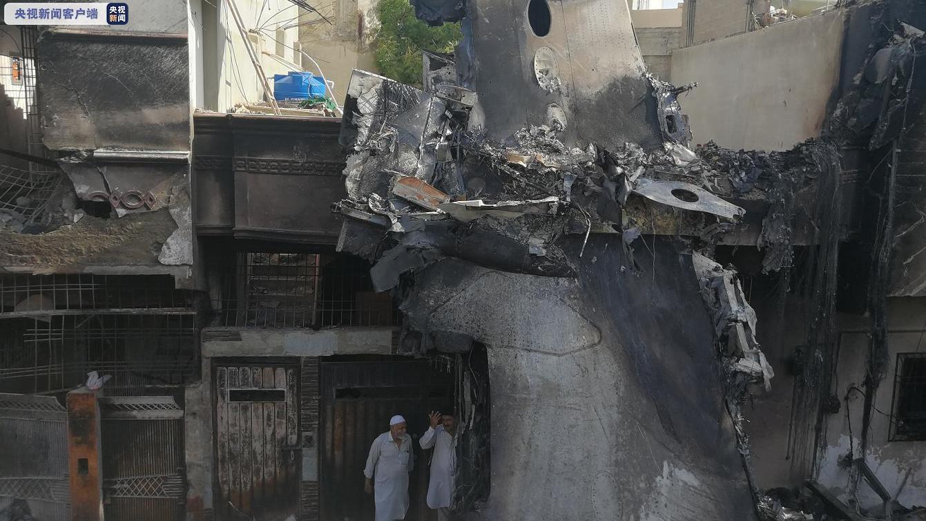 巴基斯坦航空部长:向失事飞机飞行员致敬,已对事故原因展开调查