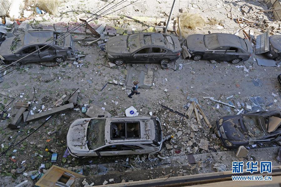allbet gaming下载:黎巴嫩贝鲁特:爆炸事后 第7张