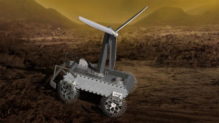 NASA希望公众助其设计金星漫游车的传感器