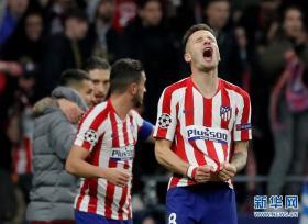 欧冠:马德里竞技1-0胜利物浦