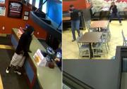 当场傻了!劫匪抢劫快餐店不料遇到下班约会的警察夫妇