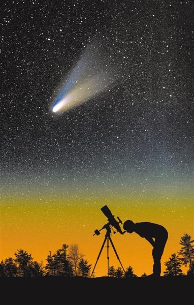"""""""末日彗星""""迎接自己的末日 2020年最亮彗星或已解体"""