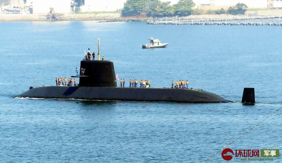包头空难黑匣子录音该潜艇的水下排水量仅次于日本苍龙级翔龙号潜艇