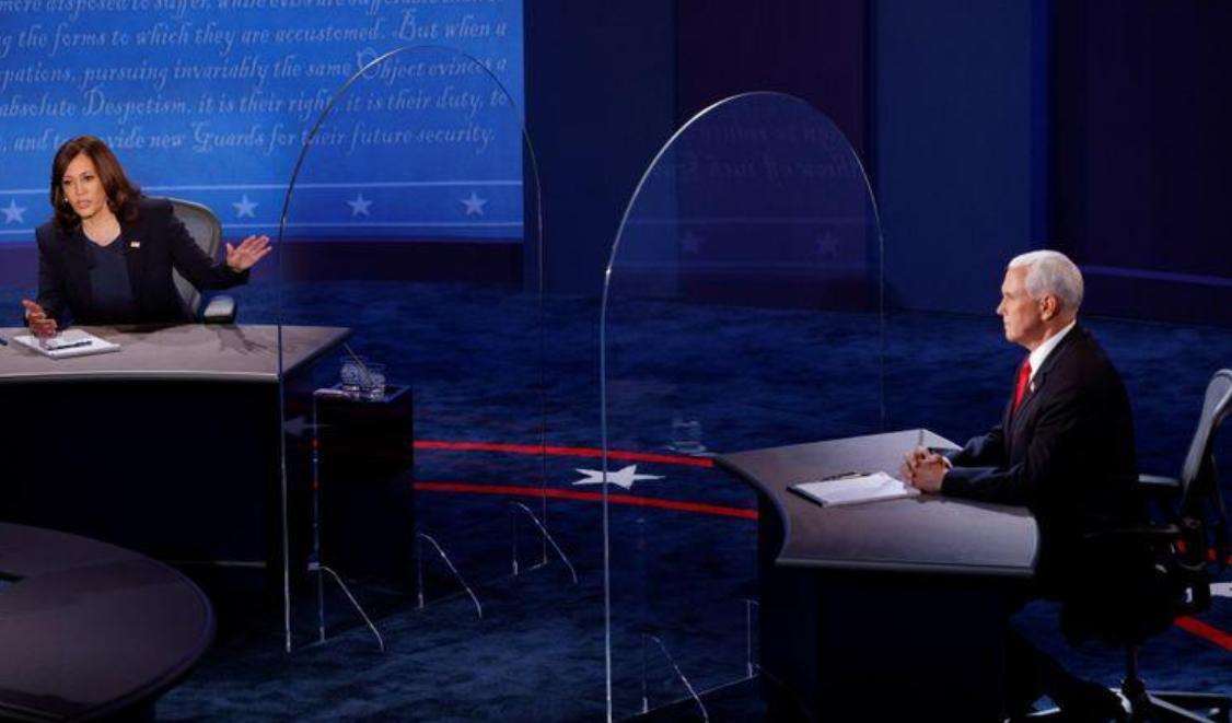 《【杏鑫娱乐手机版登录】副总统候选人辩论开始,二人之间设隔离板,需保持12英尺距离》