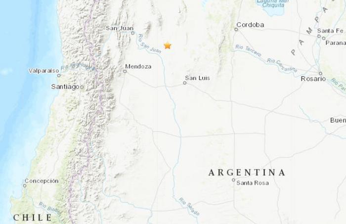 电银付加盟(dianyinzhifu.com):阿根廷发生5.2级地震 震源深度124.1公里