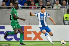 欧联-武磊首发坎普萨诺破门 西班牙人1-0客胜登顶