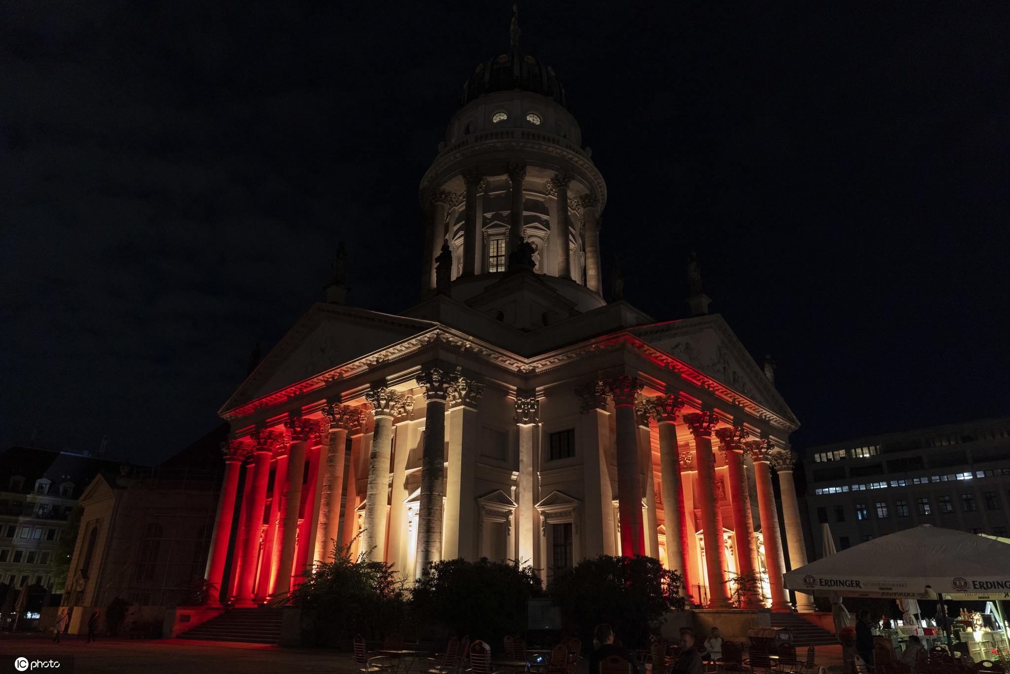德国柏林2020年灯光节开幕