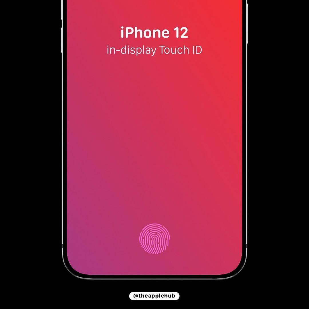 据外媒 今年的5G iPhone可能会采用超声波屏下指纹识别技术